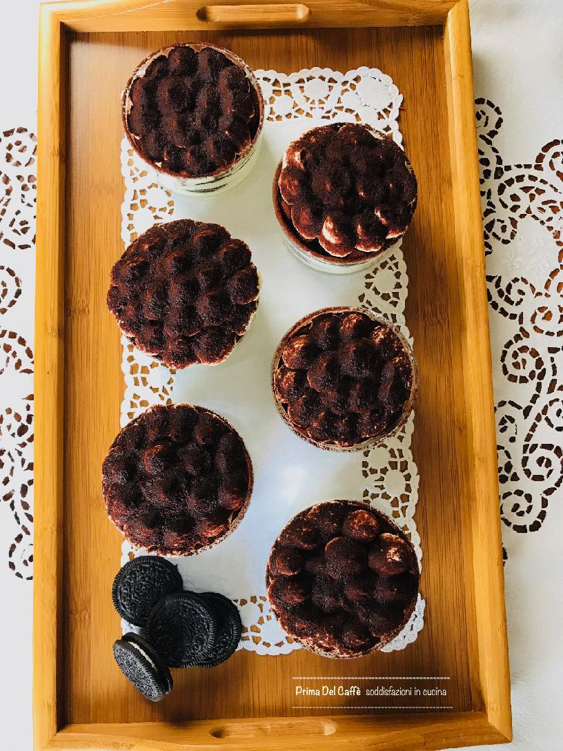 Ricetta Tiramisu Con Oreo.Tiramisu Con Oreo Ricetta Senza Uova Con Video Ricetta Prima Del Caffe Soddisfazioni In Cucina